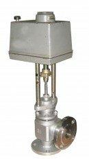 Клапан регулирующий угловой (КРУ) 25c946нж односедельный