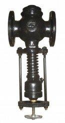 Клапан редукционный пружинный фланцевый 18ч2бр модернизированый