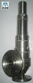 Клапан предохранительный СППК4 (р) нж с сильфонным уплотнением