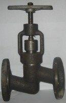 Вентиль запорный фланцевый 15с65нж (п)